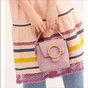 Free People | Carrie Lilac Bamboo Circle Crossbody